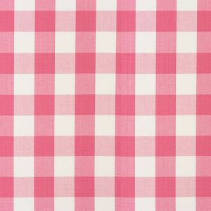 77321 CAMDEN COTTON CHECK Magenta Schumacher Fabric