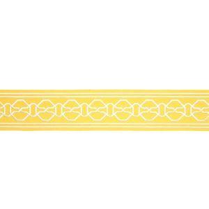 77352 MALMAISON TAPE Yellow Schumacher Trim