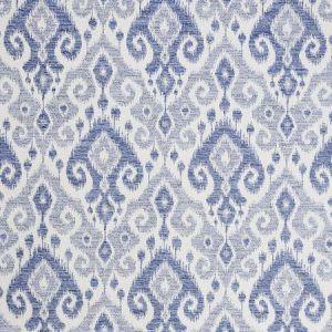 77362 DEDRA PERFORMANCE Indigo Schumacher Fabric