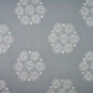 77490 ISLA HAND EMBROIDERY Sky Schumacher Fabric