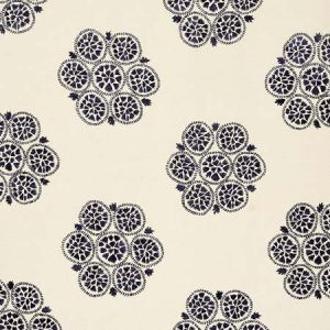 77492 ISLA HAND EMBROIDERY Slate Schumacher Fabric