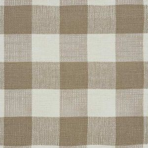 77551 BARNES PERFORMANCE CHECK Natural Schumacher Fabric