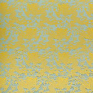 78102 RUAN DRAGON DAMASK Gold Schumacher Fabric