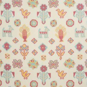 78140 CHUSKA WARP PRINT Multi Schumacher Fabric