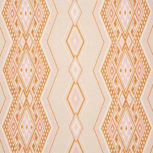 78151 BAYETA EMBROIDERY Pink Orange Schumacher Fabric