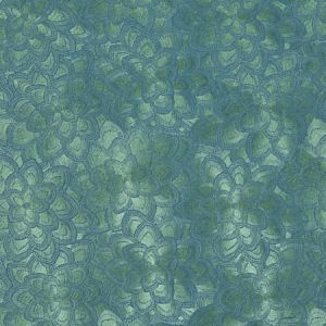 78342 LOTUS EMBROIDERY Jade Schumacher Fabric