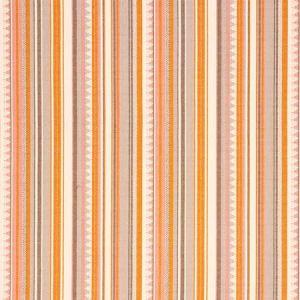 78732 ZUNI STRIPE Orange Pink Schumacher Fabric