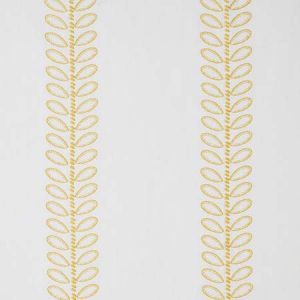 78740 CAMILE EMBROIDERY Yellow Schumacher Fabric