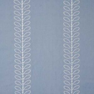 78742 CAMILE EMBROIDERY Sky Schumacher Fabric