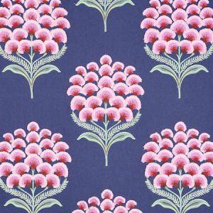 78810 AURELIA EMBROIDERY Navy Schumacher Fabric