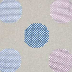 78941 HANSEN EMBROIDERY Blue Lilac Schumacher Fabric
