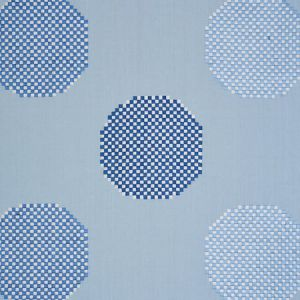 78942 HANSEN EMBROIDERY Blue Schumacher Fabric