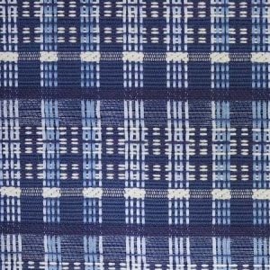 79070 ZEALAND CHECK Denim Schumacher Fabric