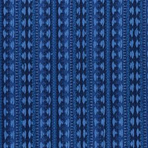 79081 TARNBY STRIPE Indigo Schumacher Fabric