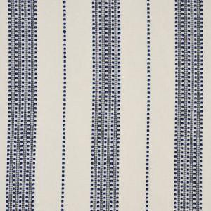79090 LUBECK STRIPE Navy Schumacher Fabric