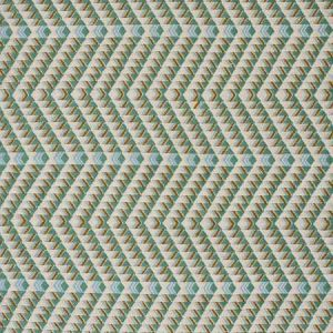 79224 AMATES HAND WOVEN BROCADE Duck Egg Schumacher Fabric