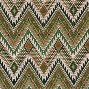 79243 COYOLATE HAND WOVEN BROCADE Green Schumacher Fabric