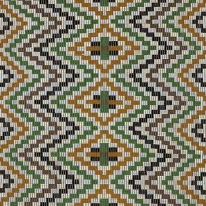 79251 IZAPA HAND WOVEN BROCADE Jewel Schumacher Fabric