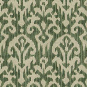 HUE IKAT Kelly Green Fabricut Fabric