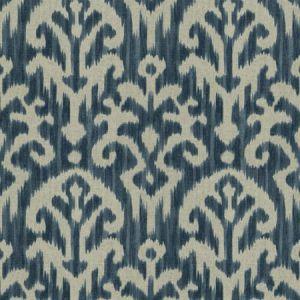 HUE IKAT Royal Fabricut Fabric