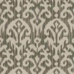 HUE IKAT Smoke Fabricut Fabric