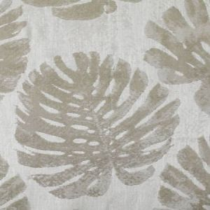 A9 0001 PALM PALM LEAVES Greige Scalamandre Fabric