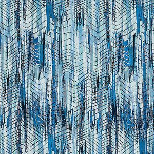 A9 0005 3300 BOHEMIAN Aqua Blue Shades Scalamandre Fabric