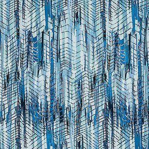 A9 0005 3300 BOHEMIAN Aqua Blue Shades Scalamandre Fabric