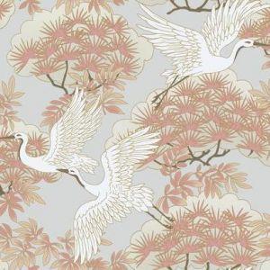 AF6590 Sprig & Heron York Wallpaper