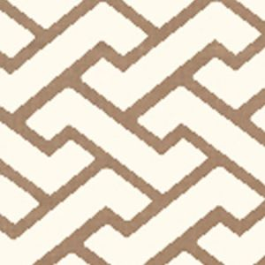 6340-08WP AGA Camel II On Tint Quadrille Wallpaper