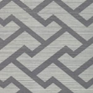 6340R AGA Silver Quadrille Wallpaper