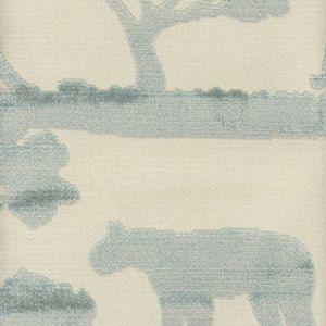 AM100068-15 SAFARI LION Duck Egg Kravet Fabric