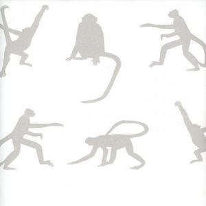 AMW10017-101 MISCHIEF Taupe Kravet Wallpaper