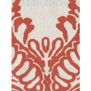 CP1040-04 ANTOINETTE Burnt Orange on Westover Quadrille Fabric