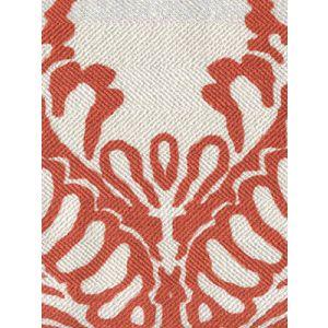 CP1040-04 ANTOINETTE Burnt Orange on Westover Quadrille Fabric