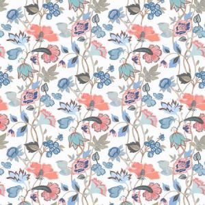 AQUARIUS 2 CORAL Stout Fabric