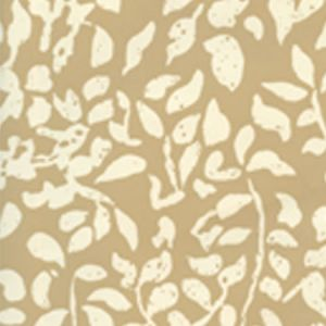 2035-09WP ARBRE DE MATISSE REVERSE Camel Ii On Off White Quadrille Wallpaper