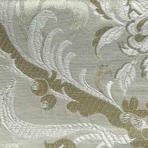 AY 00095129 ALLEGRA LAMPAS III Ivory Old World Weavers Fabric