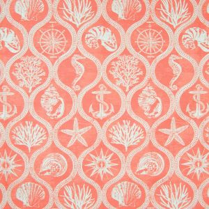 B6882 Coral Red Greenhouse Fabric