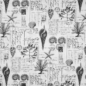 B6902 Black Tan Greenhouse Fabric