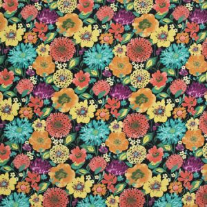 B8924 Black Star Greenhouse Fabric