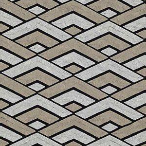 B8 0000 GRAZ GRAZIA Black Tan Scalamandre Fabric