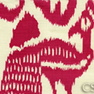 2435-46 BALI ISLE Magenta on Tint Quadrille Fabric