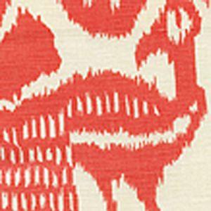 2435-34 BALI ISLE Salmon on Tint Quadrille Fabric
