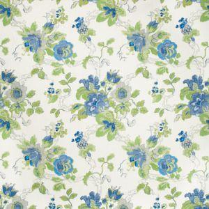 PBFC-3505-153 PARNHAM Cornflower Lime Lee Jofa Wallpaper