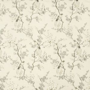 BIRD IN WAITING Taupe Carole Fabric