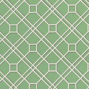 BW45071-10 LANGDALE TRELLIS Green GP & J Baker Wallpaper