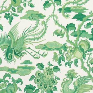 BW45087-3 CHIFU Emerald GP & J Baker Wallpaper