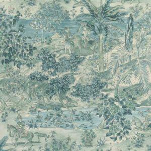 BW45088-2 RAMAYANA Blue GP & J Baker Wallpaper