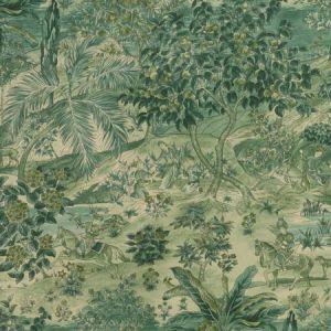 BW45088-3 RAMAYANA Emerald GP & J Baker Wallpaper